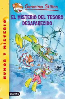 Infantil: Reseña El misterio del tesoro desaparecido. GerónimoStilton.