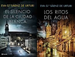 Reseña Los ritos del agua. Trilogía de la Ciudad Blanca II. Eva Gª Sáenz deUrturi.