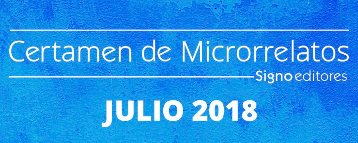 ¡Participo en el Certamen de Microrrelatos de SignoEditores!